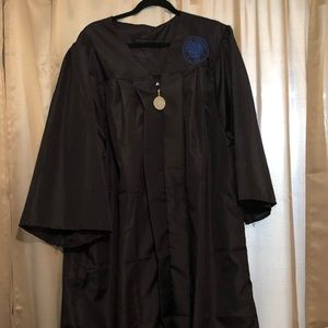Citrus College Graduation Gown in Black